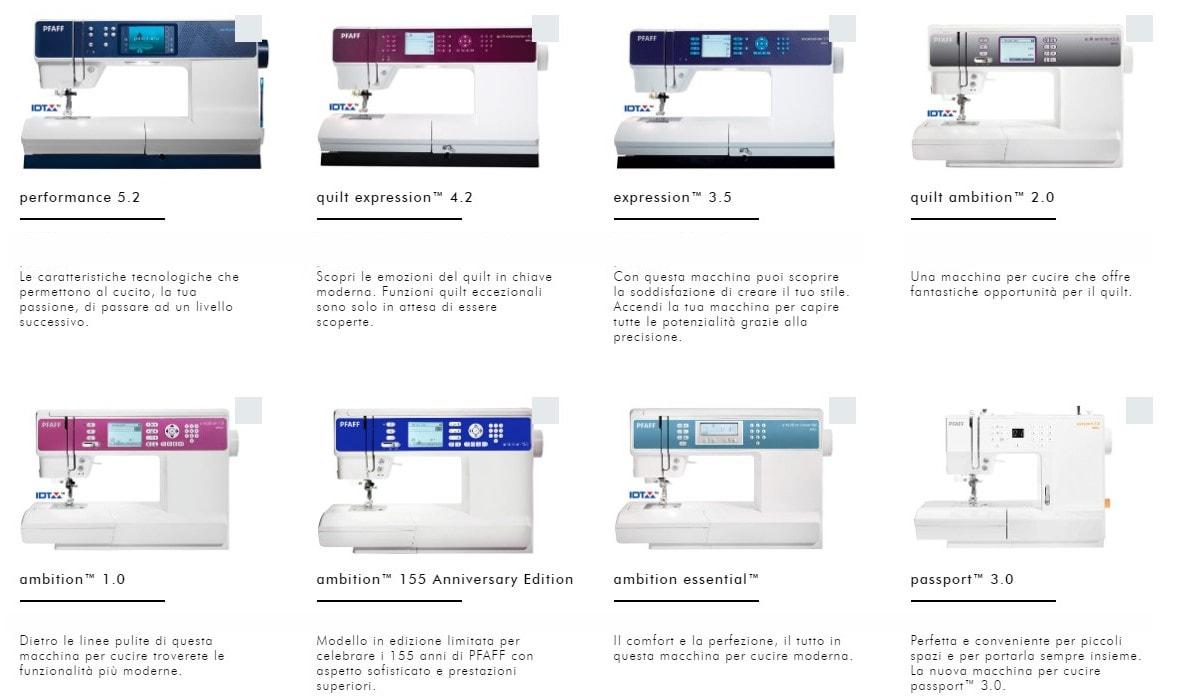 macchina da cucire Pfaff